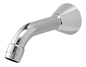 Rada SP T150 Wall Mounted Bath Spout - Short