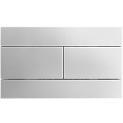 Kohler flush Plate, polished chrome