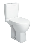 Kohler Reach standard close coupled toilet pan