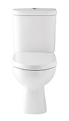 Kohler Candide close coupled toilet pan