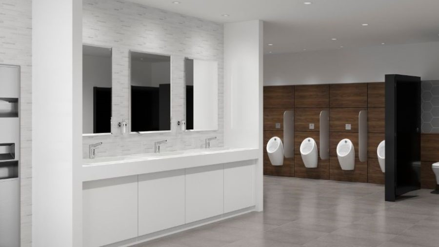 Save valuable resources with Rada's NEW Electronic Washroom range